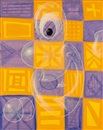 Kenny Scharf, Checkerboard Ghost