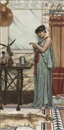 John William Godward, His birthday gift