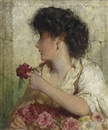 George Elgar Hicks, A Summer Rose
