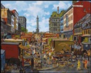 John Geoffrey Caruthers Little, Market at Place Jacques-Cartier