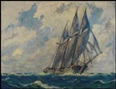 Manly Edward MacDonald, Marine Scene
