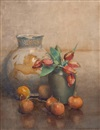 Constance Walton, Study of vase with flowers