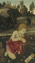 Filippo (Filippino) Lippi, The Young Saint John the Baptist praying in a landscape
