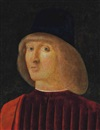 Follower Of Giovanni Bellini, Portrait of a man, bust-length