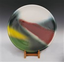 Wang Shiu-Kung, Multicolored Glaze Plate