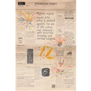 Conrad Atkinson, The Financial Times, Wednesday September 17, 1986 (4 sheets mounted as 1)