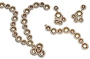 Gerard, A suite comprising a necklace, bracelet and pair of earclips (set of 3)