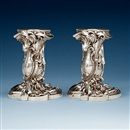 Fabergé (Co.), Candlesticks (pair)