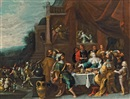 Circle Of Frans Francken the Younger, Das Gastmahl der Esther