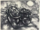 Oscar Yakovlevich Rabin, Pots and Pans and the City