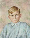 Christian Schad, Kinderbild Rainer Matthes