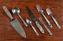 Georg Jensen (Co.), Flatware Set Acorn pattern (set of 73)