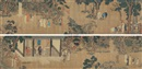 Attributed To Qian Xuan, 颂寿图 (Figures)