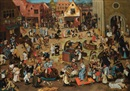Pieter Brueghel the Younger, The Battle between Carnival and Lent