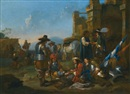 Jan Miel, A company of soldiers