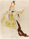 Doris Clare Zinkeisen, Collection of costume or book illustration designs (35 works)