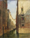 James Holland, Canal scene, Venice