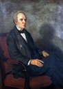 Charles Napier Kennedy, Portrait of a Seated Gent Wearing Black Suit and Monocle