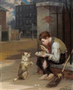 Augustus Edwin Mulready, Friends in Need
