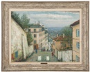 Alois Lecoque, Montmartre street and view