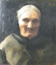 Frank Bodilly, Study: Head of an old lady