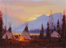 Gary Kapp, Evening Encampment