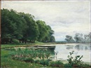 Christian Peder Mørch Zacho, A forest lake