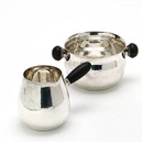 Georg Jensen (Co.), Sugar bowl and creamer (set of 2)
