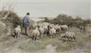 Anton Mauve, A shepherd and his flock