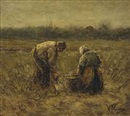 Anton Mauve, Working the land