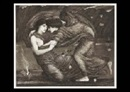 Edward Burne-Jones, Cupid and Psyche and Everallin (set of 2)