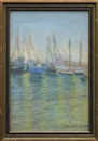 Sara Dora Block Alexander, Boats in San Diego Harbor