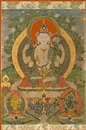 Anonymous-Bhutanese (19), A thangka of Avalotikesvara