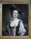 Henry Pickering, A half-length portrait of Margaret swetenham