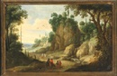 Circle Of Paul Bril, Travelers on a Path