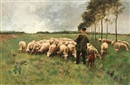 Anton Mauve, Shepherd and Flock