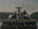 After George Caleb Bingham, The Jolly Flat Boat Men