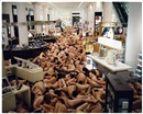 Spencer Tunick, London (Selfridges) and Cleveland Rock 'n Roll Hall of Fame (2 works)