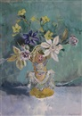 Mary Nicol Neill Armour, Flowers with Clematis
