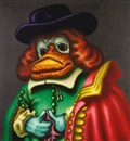 Peter Saul, The Rembrandt Duck