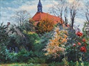 Walter Voltmer, Landscape with Church