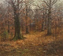 John Elwood Bundy, Fall Day in the Forest