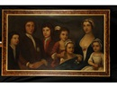 Anonymous-British (18), A family group portrait of a husband and wife with five children