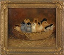 Ben Austrian, Ten chicks in a basket