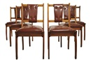 Schulim Krimper, Dining chairs (set of 6)