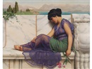 John William Godward, Summer idleness: Day dreams