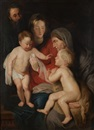 Continental School (19), The Holy Family with St. Anne and St. John the Baptist