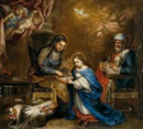 Attributed To Clemente de Torres, La educación de la Virgen
