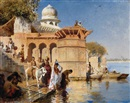 Edwin Lord Weeks, Along the Gháts, Mathura