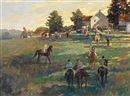 John Gable, A Gathering near Alfred, Maine
